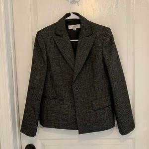 Women's Black/gray 2-piece pant suit